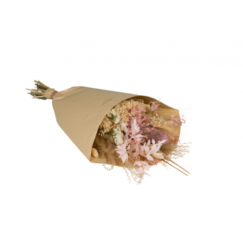 Gedroogd boeket Lovely Rose